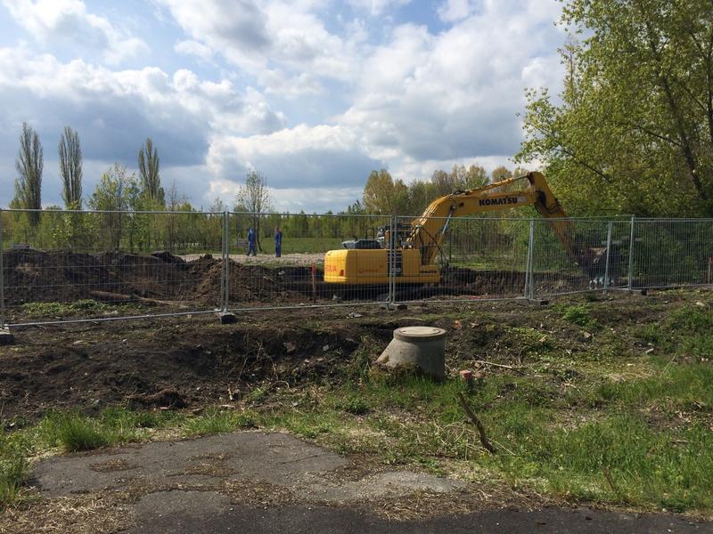 Bodensanierungsmaßnahme ehemaliges Schwimmbad Cämmeritz