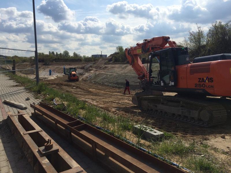 Bodensanierungsmaßnahme Südteil Neuwerk (Ausgangstanklager)